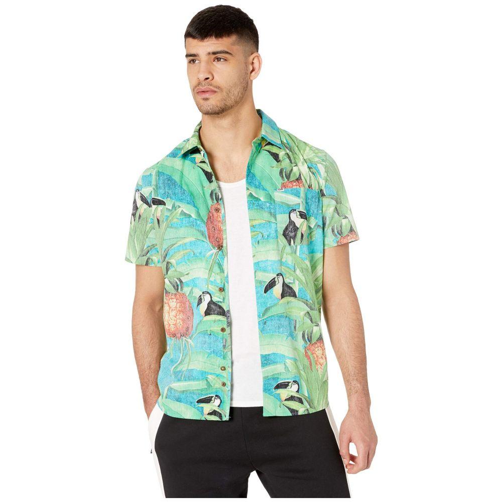 ハーレー Hurley メンズ トップス【Costa Rica Short Sleeve Woven】Tropical Twist