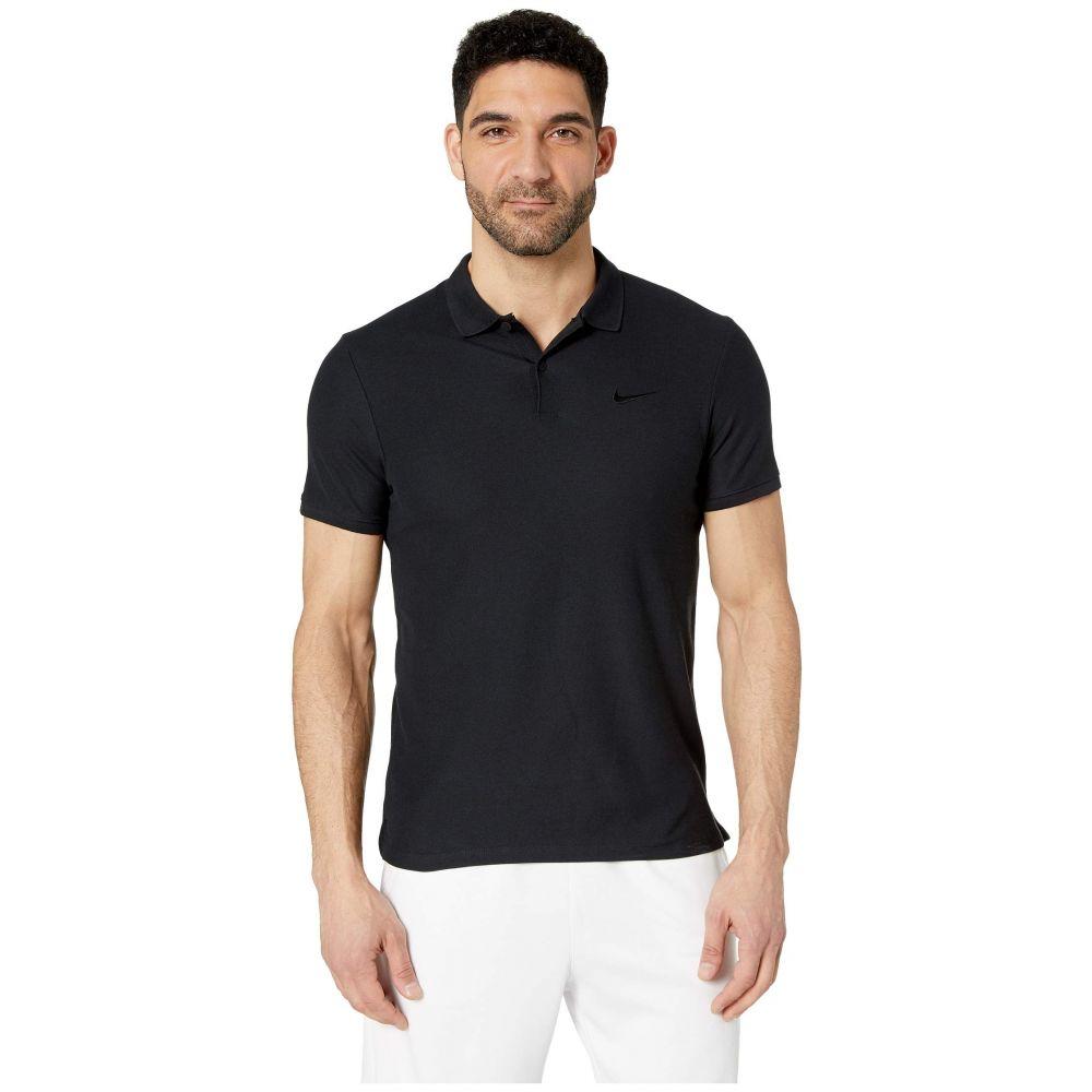 ナイキ Nike メンズ トップス ポロシャツ【court Advantage Polo Essential】Black/Black