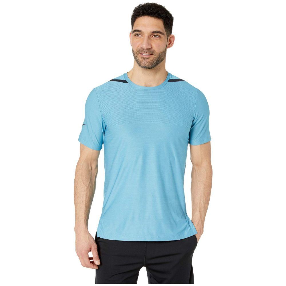 ナイキ Nike メンズ トップス【Dry Top Short Sleeve Tech Pack】Blue Gaze/Green Abyss/Black
