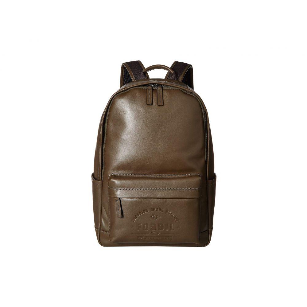 フォッシル Fossil メンズ バッグ バックパック・リュック【Buckner Backpack】Olive