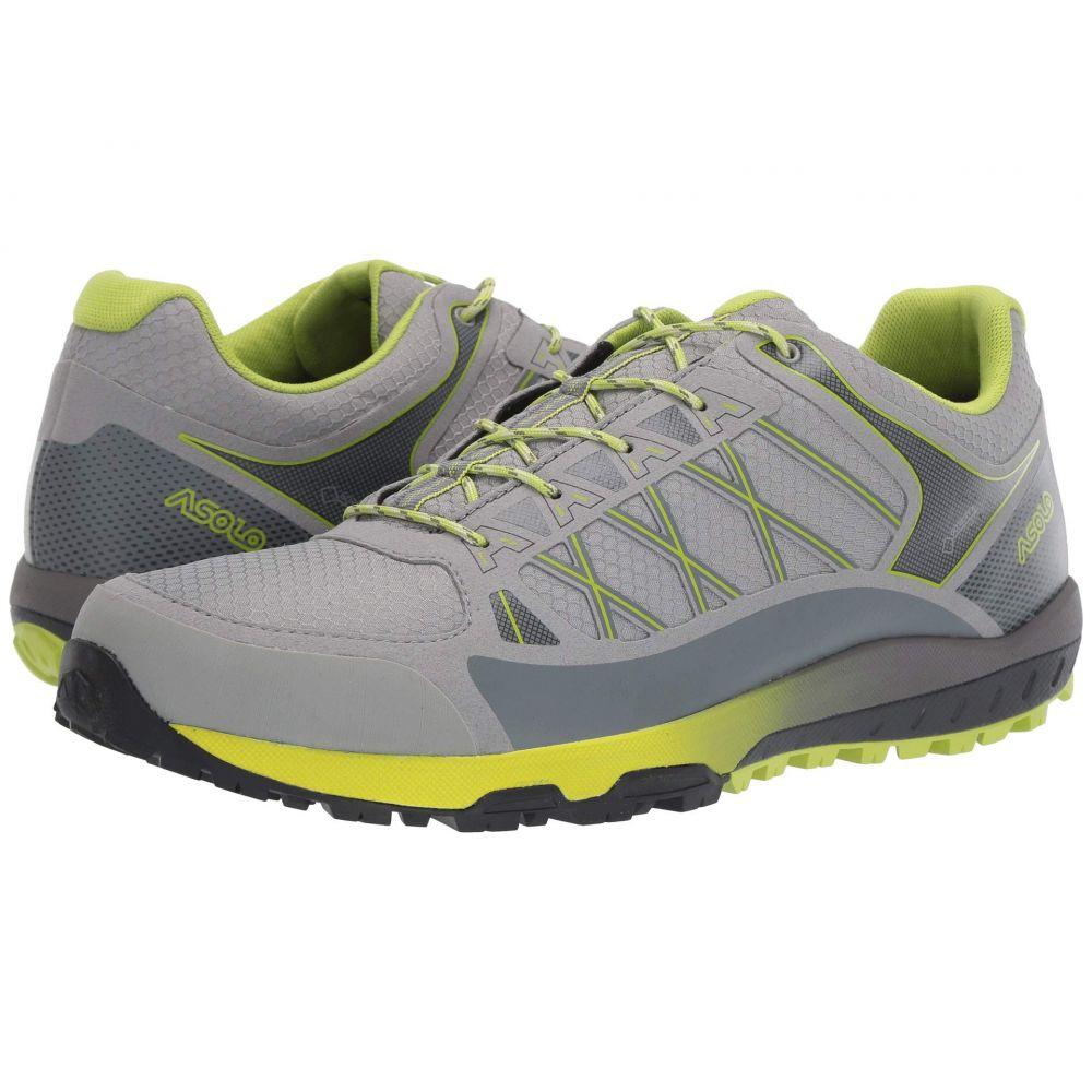 アゾロ Asolo メンズ ハイキング・登山 シューズ・靴【Grid GV MM】Grey Lime