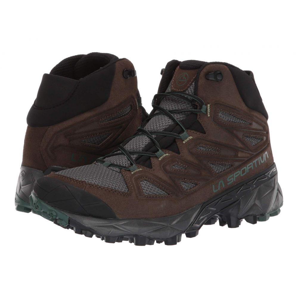 ラスポルティバ La Sportiva メンズ ハイキング・登山 シューズ・靴【Trail Ridge Mid】Mocha/Forest