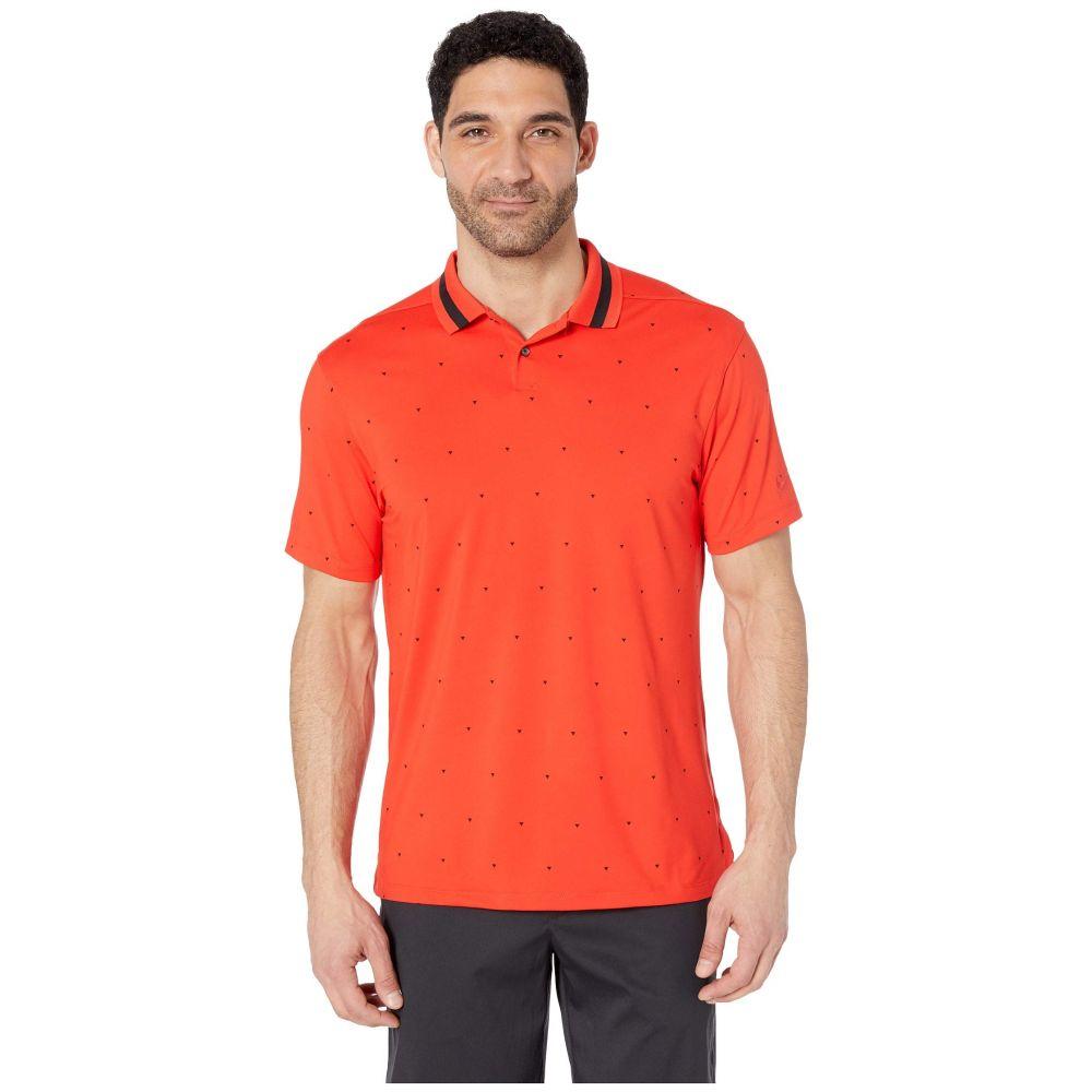ナイキ Nike Golf メンズ トップス ポロシャツ【Dry Vapor Print Polo】Habanero Red/Black/Habanero Red
