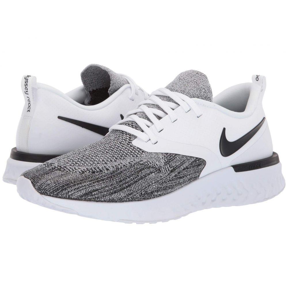 ナイキ Nike メンズ ランニング・ウォーキング シューズ・靴【Odyssey React Flyknit 2】White/Black