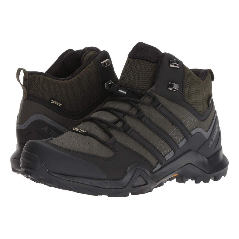 アディダス adidas Outdoor メンズ ランニング・ウォーキング シューズ・靴【Terrex Swift R2 Mid GTX】Night Carbon/Black/Base Green