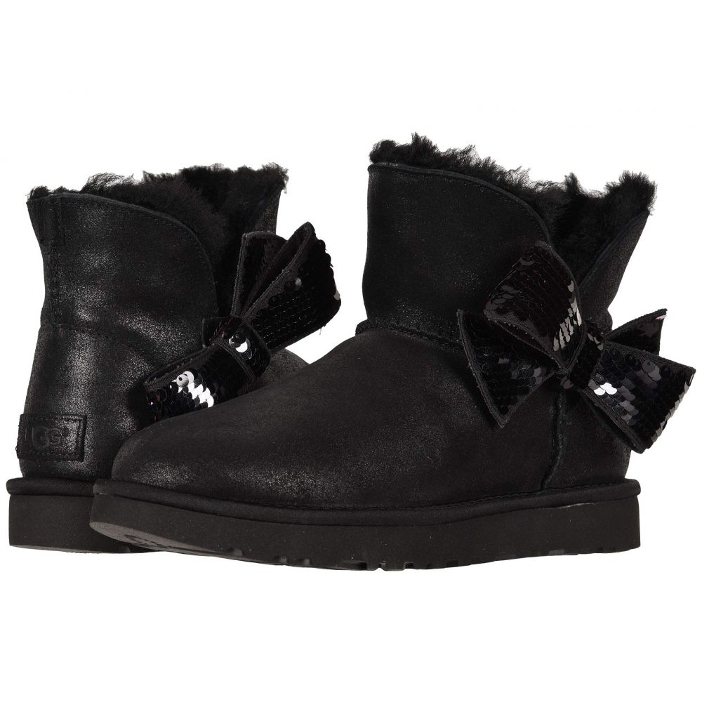 アグ UGG レディース シューズ・靴 ブーツ【Mini Sequin Bow】Black