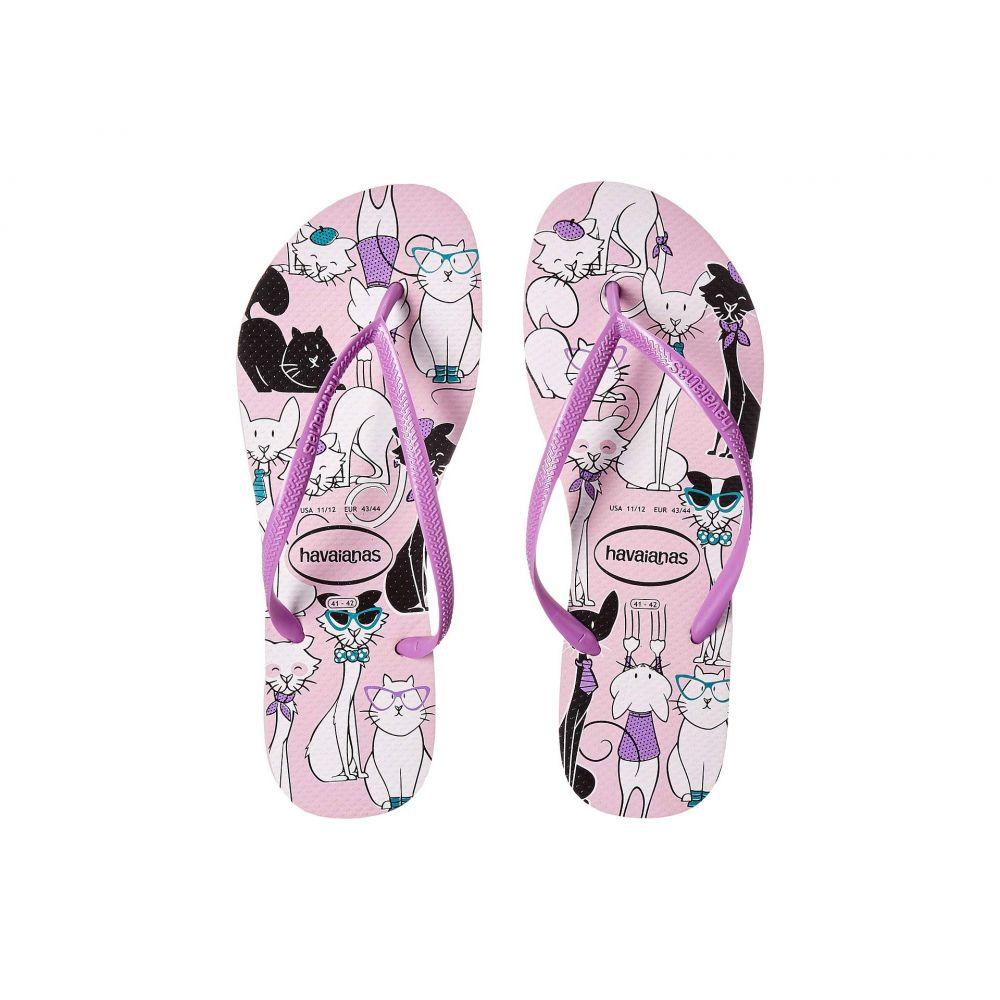 ハワイアナス Havaianas レディース シューズ・靴 ビーチサンダル【Slim Pets Flip-Flops】Rose Quartz