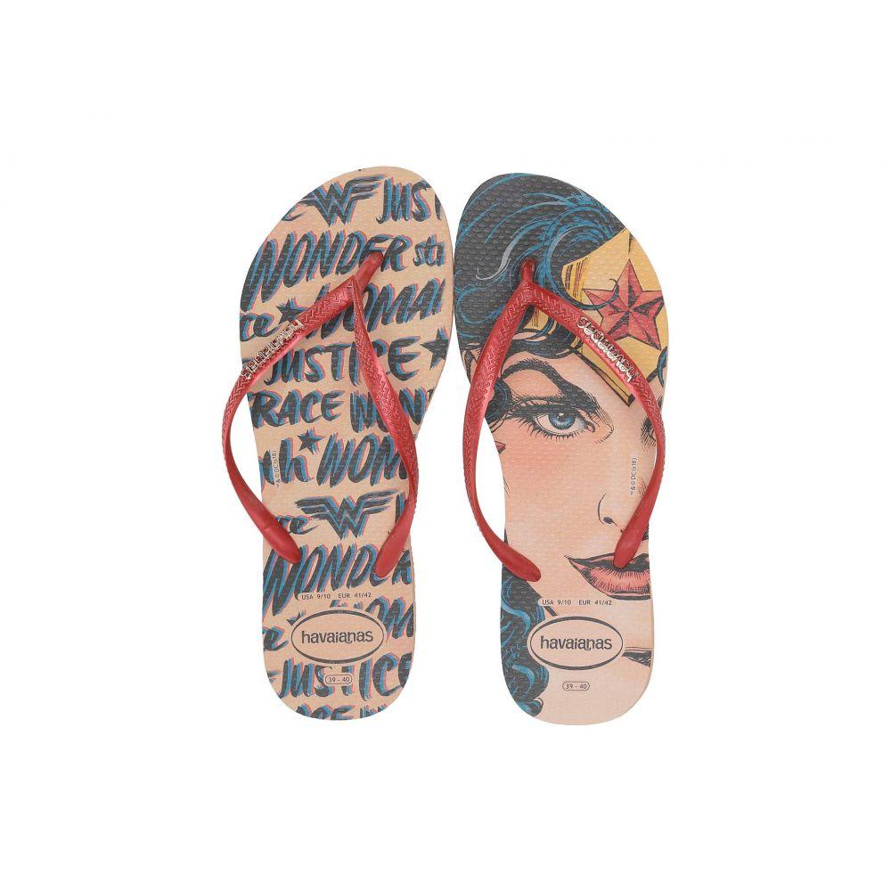 ハワイアナス Havaianas レディース シューズ・靴 ビーチサンダル【Slim Wonder Woman Flip-Flops】Nude/Rouge