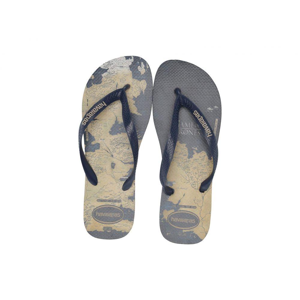 ハワイアナス Havaianas レディース シューズ・靴 ビーチサンダル【Top Game of Thrones Sandal】Sand Grey