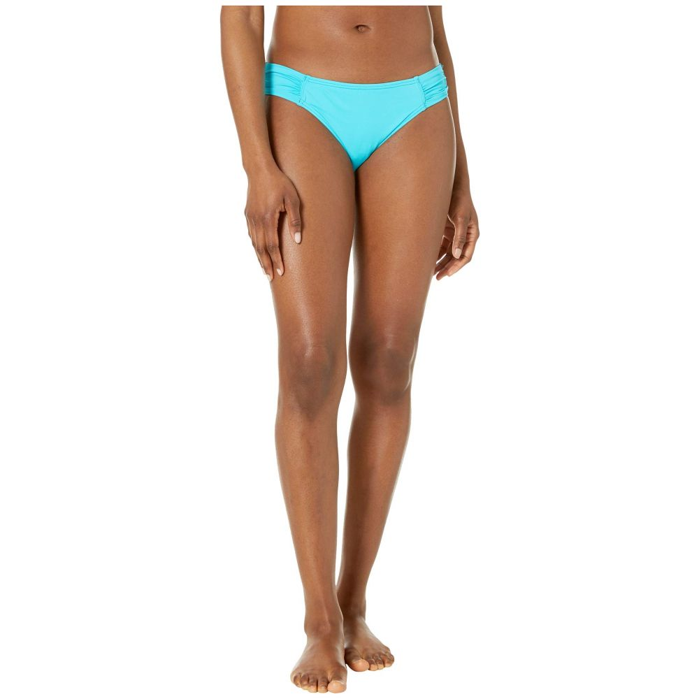 トミー バハマ Tommy Bahama レディース 水着・ビーチウェア ボトムのみ【Pearl Side-Shirred Hipster Bikini Bottom】Aqua Cerulean