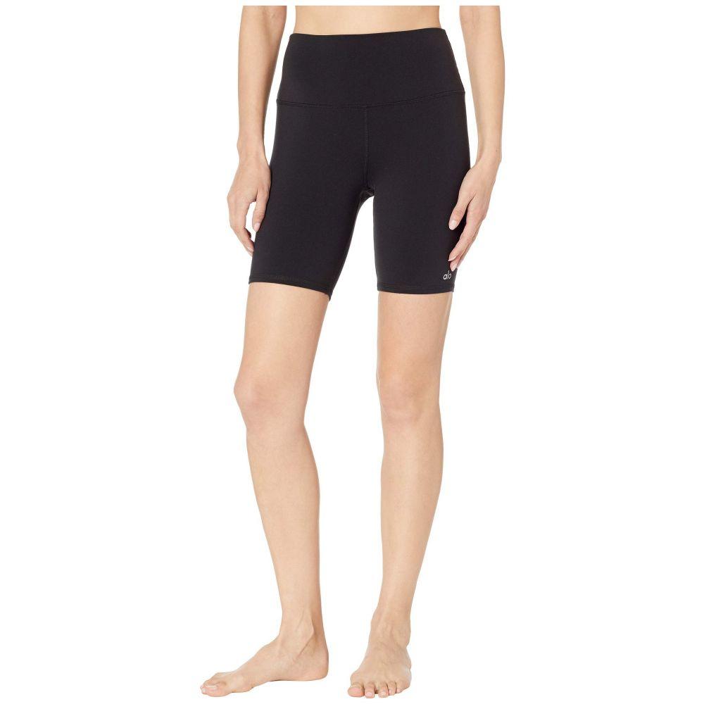 アロー ALO レディース ボトムス・パンツ ショートパンツ【High-Waisted Biker Shorts】Black