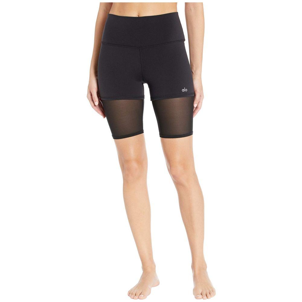 アロー ALO レディース ボトムス・パンツ ショートパンツ【High-Waisted Shorts】Black