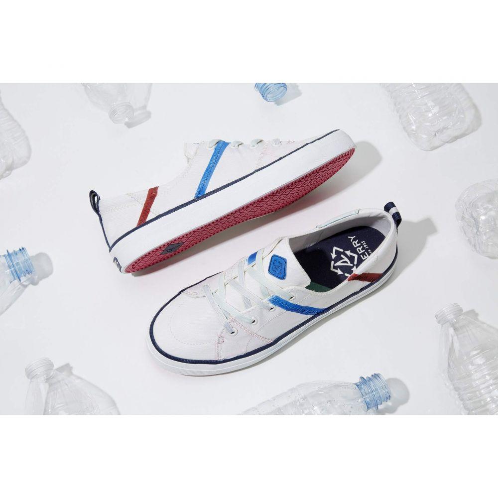 スペリー Sperry レディース シューズ・靴 スニーカー【Josie Dunne Crest Vibe Bionic】White/Blue/Red