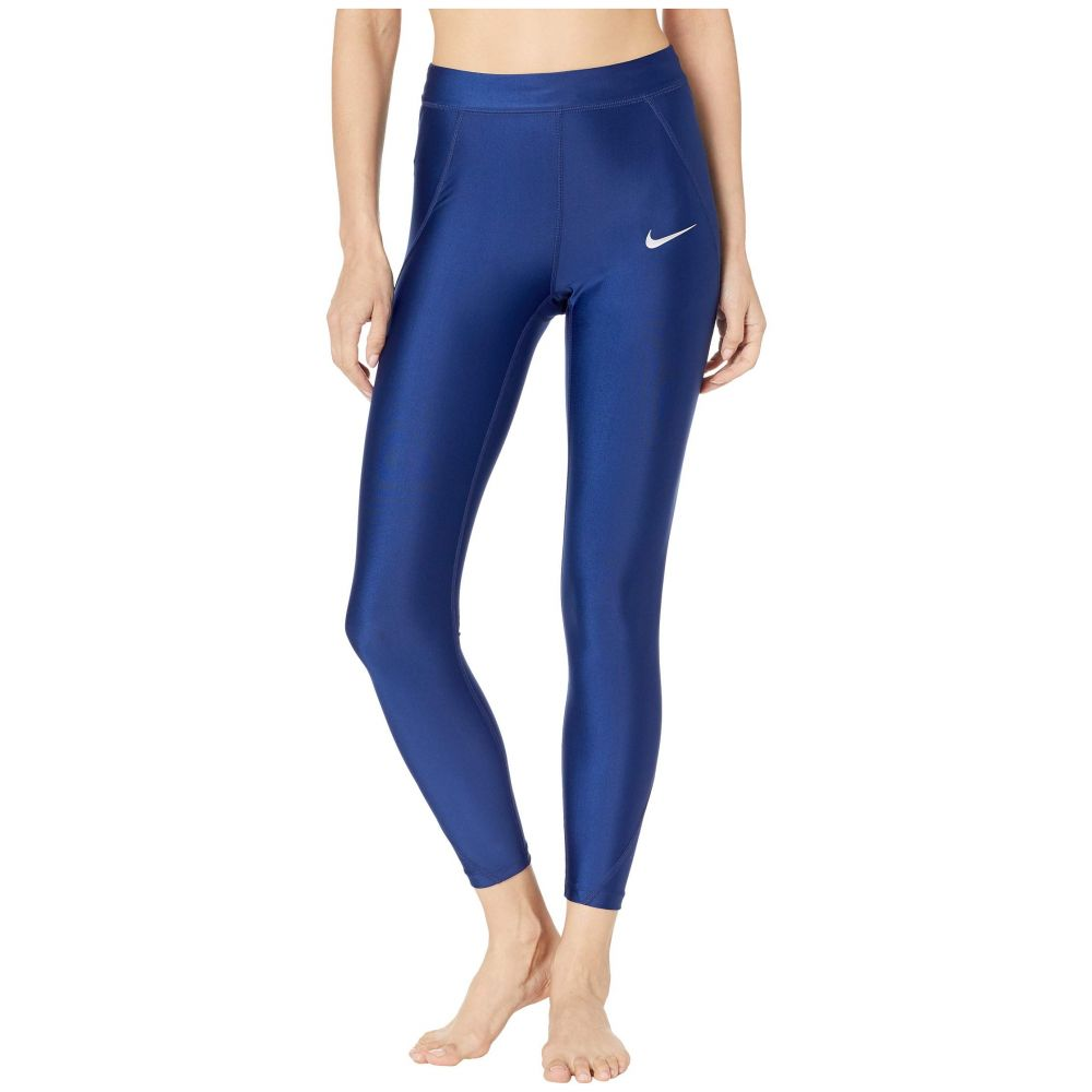 ナイキ Nike レディース インナー・下着 スパッツ・レギンス【Power Speed 7/8 Tights】Blue Void/Reflective Silver