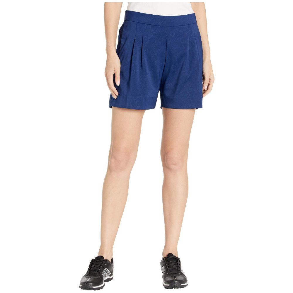 ナイキ Nike Golf レディース ボトムス・パンツ ショートパンツ【6' Dry UV SU Emboss Shorts】Blue Void/Blue Void