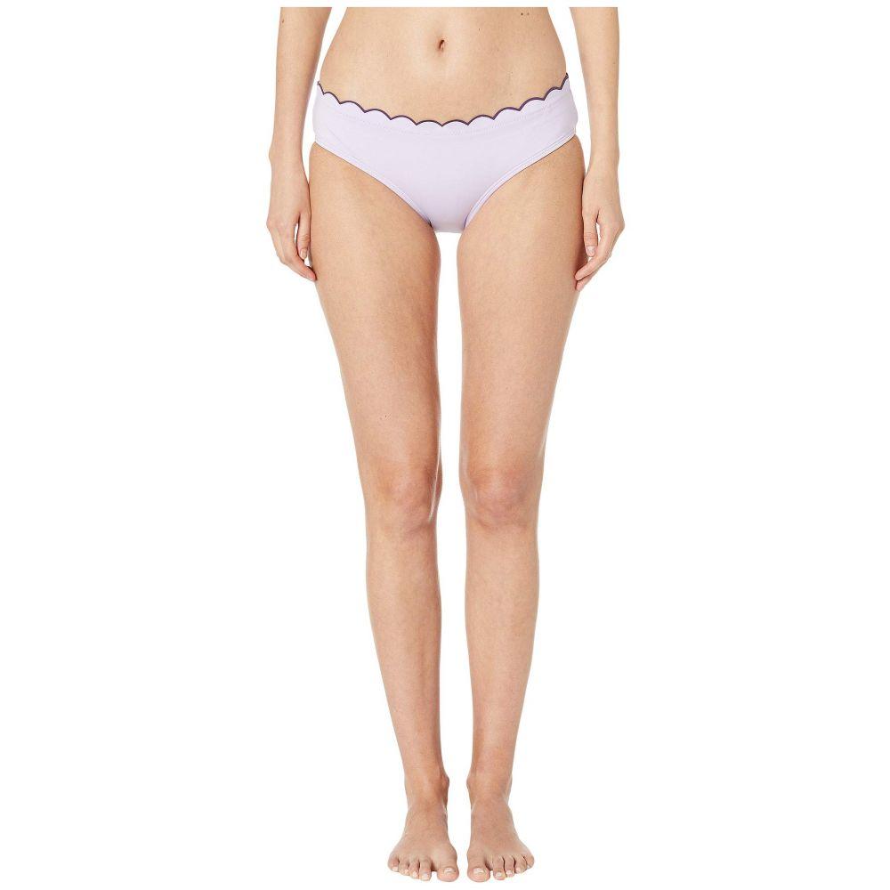 ケイト スペード Kate Spade New York レディース 水着・ビーチウェア ボトムのみ【Contrast Scalloped Hipster Bikini Bottoms】Frozen Lilac