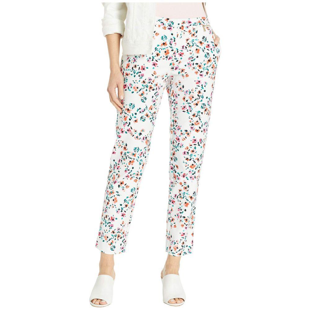 カルバンクライン Calvin Klein レディース ボトムス・パンツ【Printed Cotton Pants】Soft White Multi