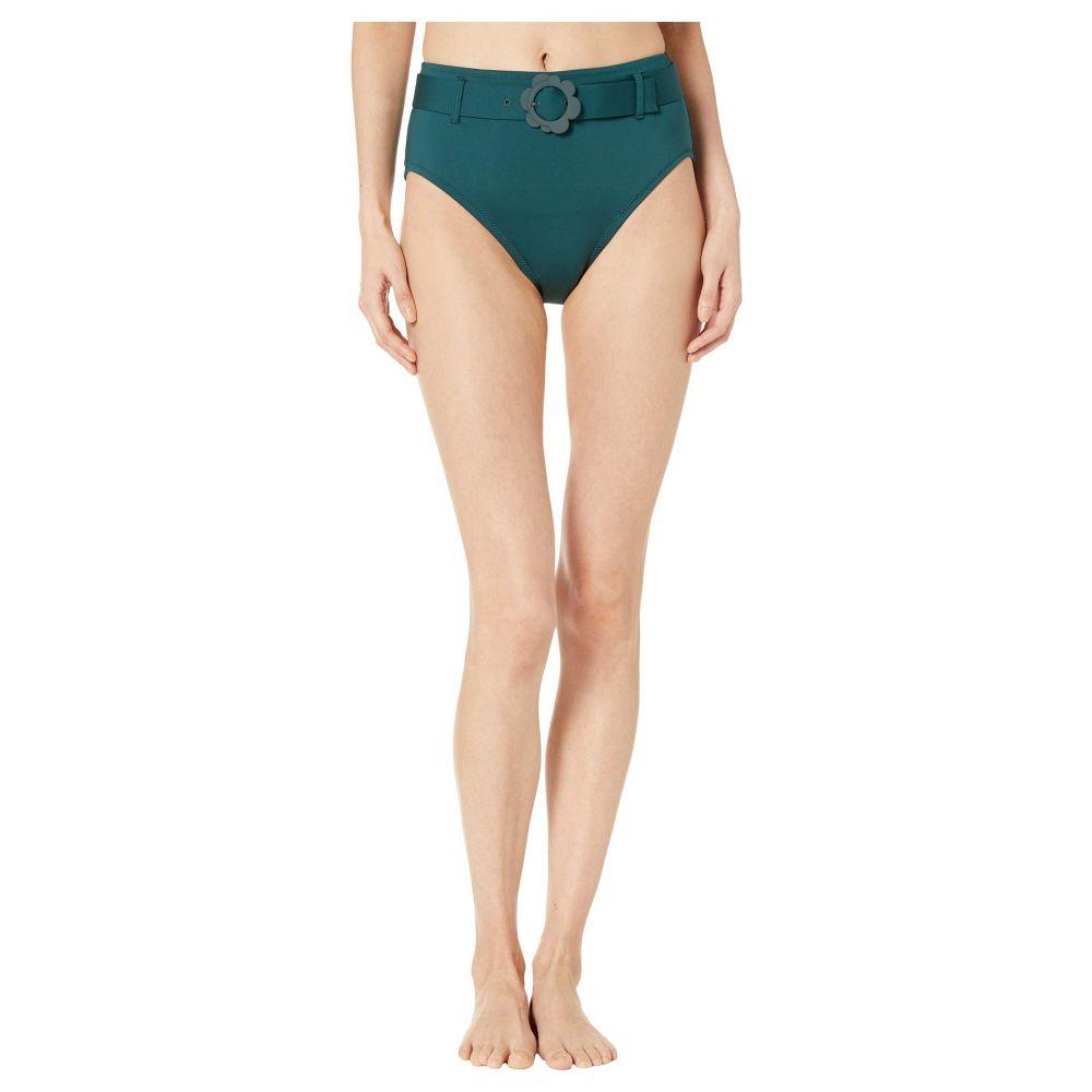 ケイト スペード Kate Spade New York レディース 水着・ビーチウェア ボトムのみ【Daisy Buckle High-Waist Bikini Bottoms】Conifer