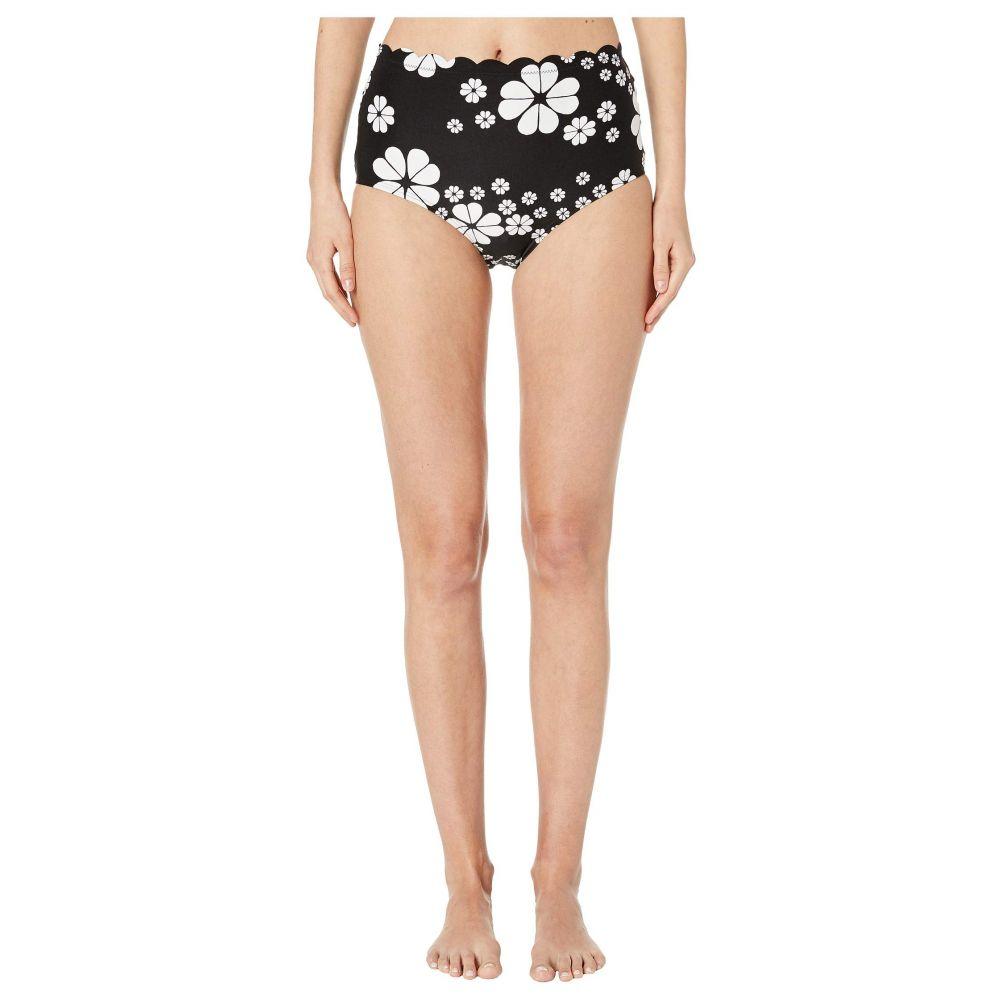 ケイト スペード Kate Spade New York レディース 水着・ビーチウェア ボトムのみ【Scalloped High-Waisted Bikini Bottoms】Black