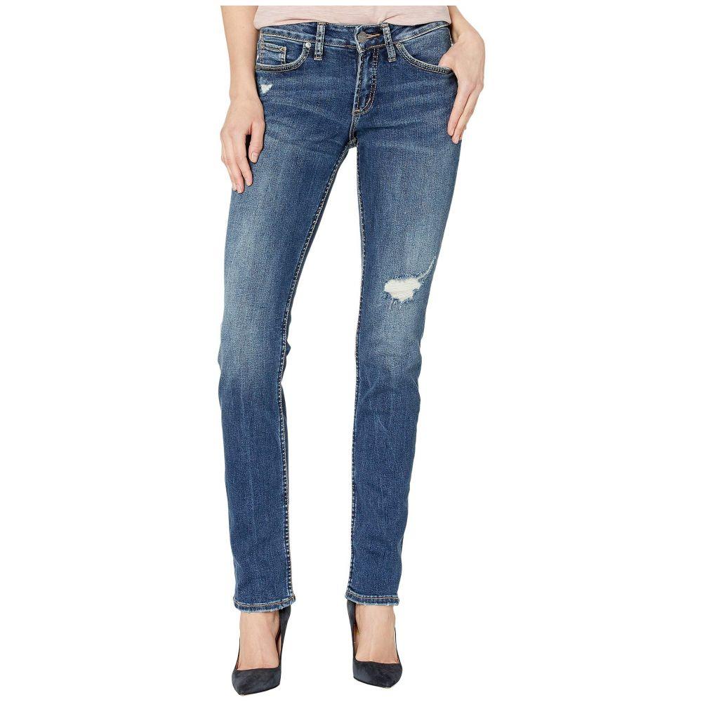 シルバー ジーンズ Silver Jeans Co. レディース ボトムス・パンツ ジーンズ・デニム【Suki Mid-Rise Curvy Fit Straight Leg Jeans in Indigo L93413SSX346】Indigo