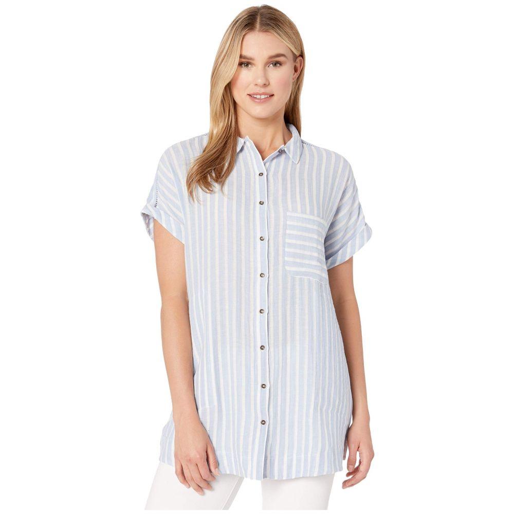 プラッシュ Plush レディース 水着・ビーチウェア ビーチウェア【Soleil Striped Dress】Blue/White Stripe