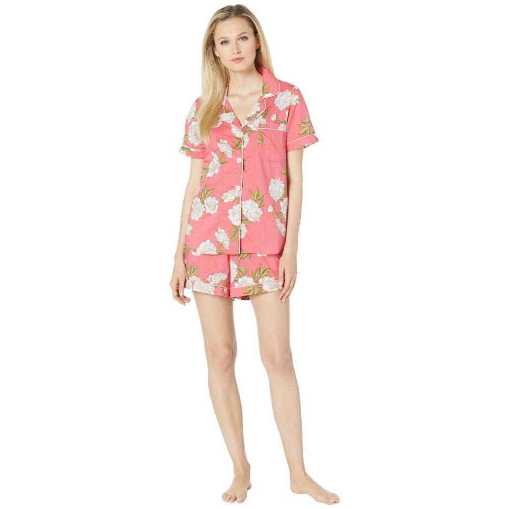 ベッドヘッド BedHead Pajamas レディース インナー・下着 パジャマ・上下セット【Short Sleeve Classic Short Pajama Set】Hermosa Bloom