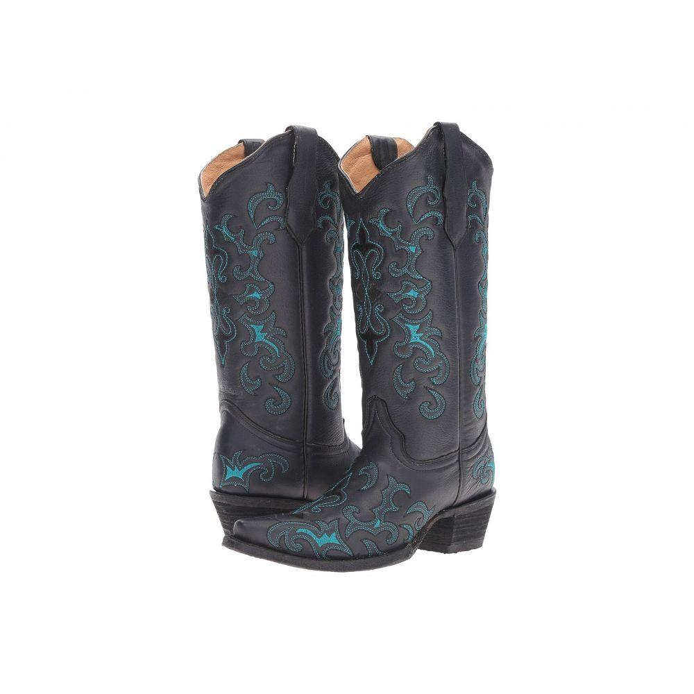 コラル Corral Boots レディース シューズ・靴 ブーツ【L5150】Black/Blue