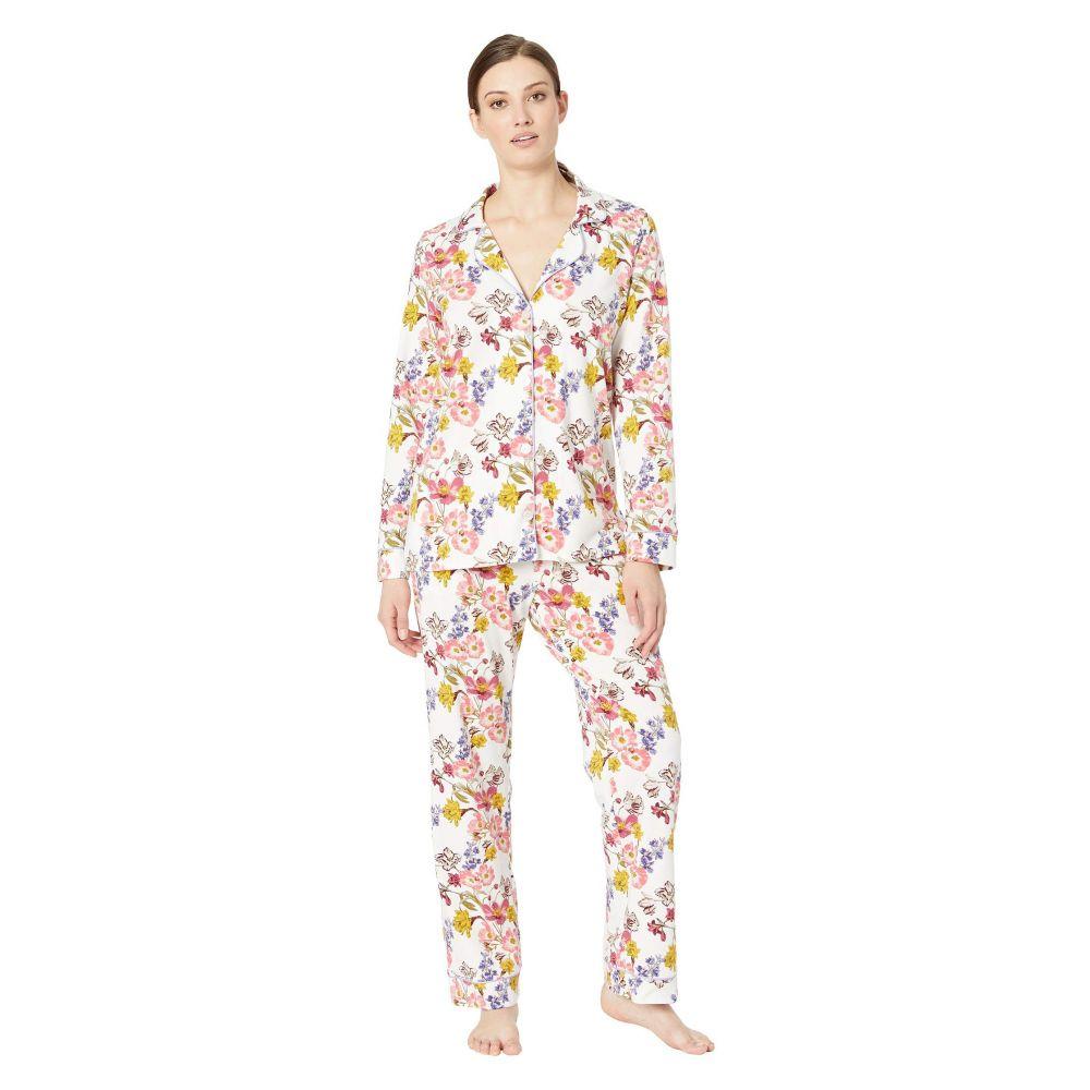 ベッドヘッド BedHead Pajamas レディース インナー・下着 パジャマ・上下セット【Long Sleeve Classic Notch Collar Pajama Set】Wild Flowers