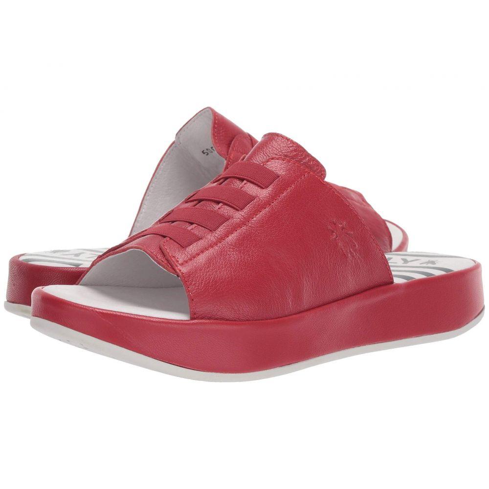 フライロンドン FLY LONDON レディース シューズ・靴 サンダル・ミュール【BOPE981FLY】Lipstick Red Mousse
