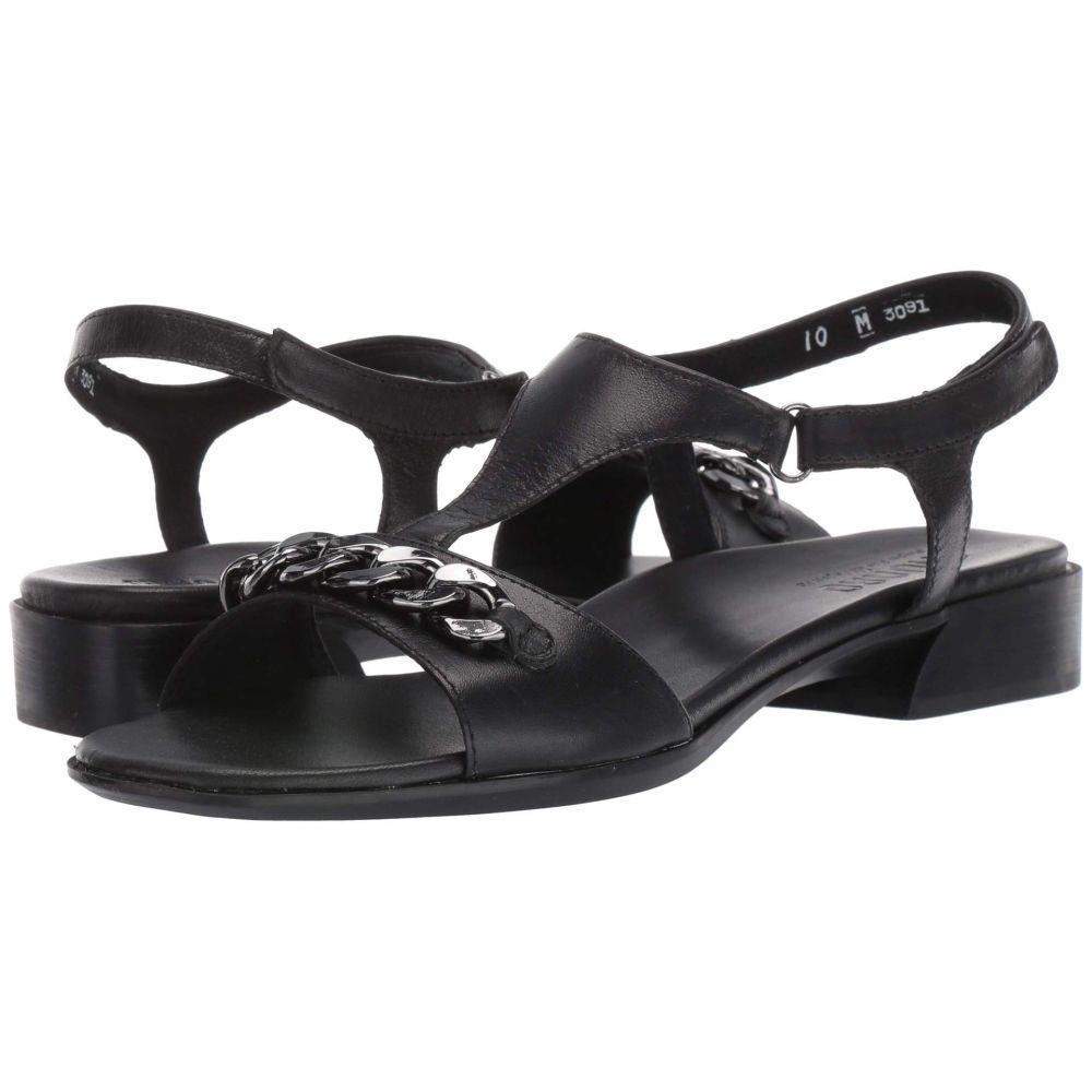 マンロー Munro レディース シューズ・靴 サンダル・ミュール【Jackie】Black Kid Leather