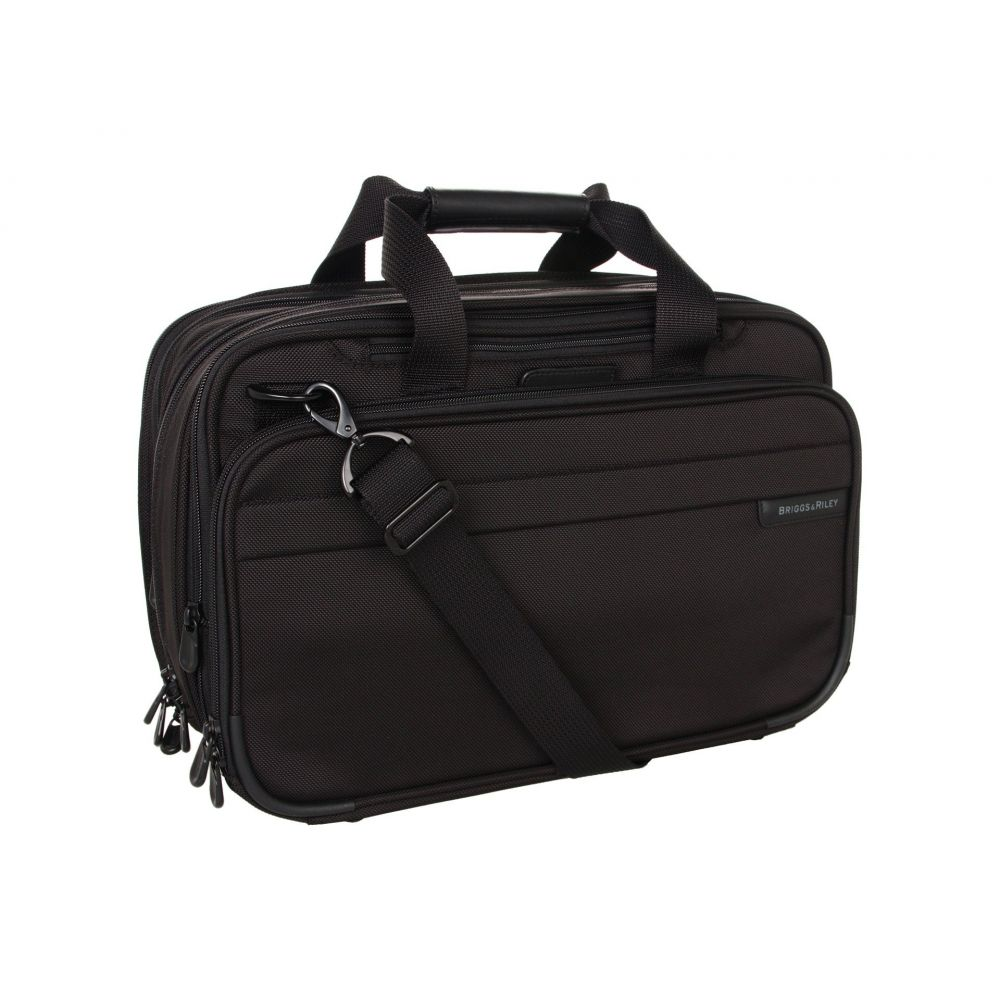 ブリッグスアンドライリー Briggs & Riley レディース バッグ ボストンバッグ・ダッフルバッグ【Baseline - Expandable Cabin Bag】Black