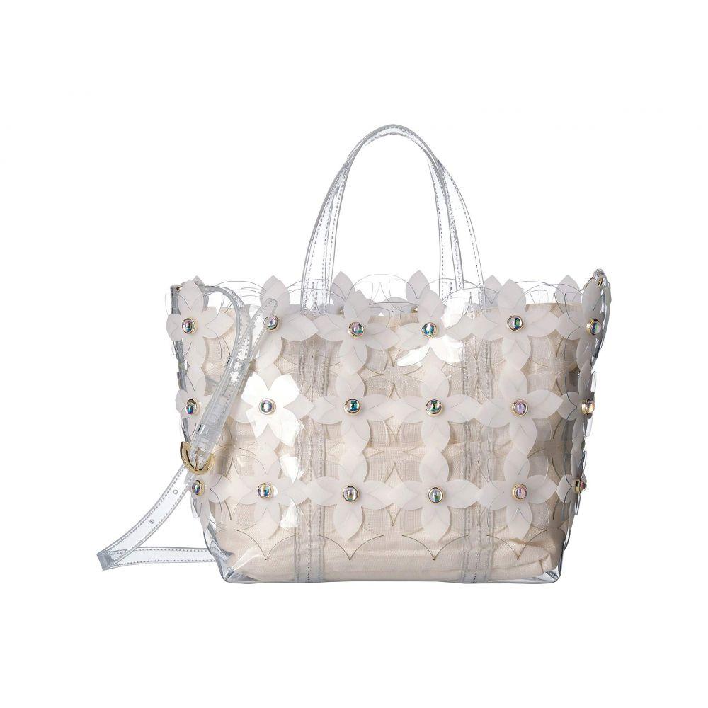 ザック ポーゼン ZAC Zac Posen レディース バッグ トートバッグ【Floral Bouquet Shopper】Clear