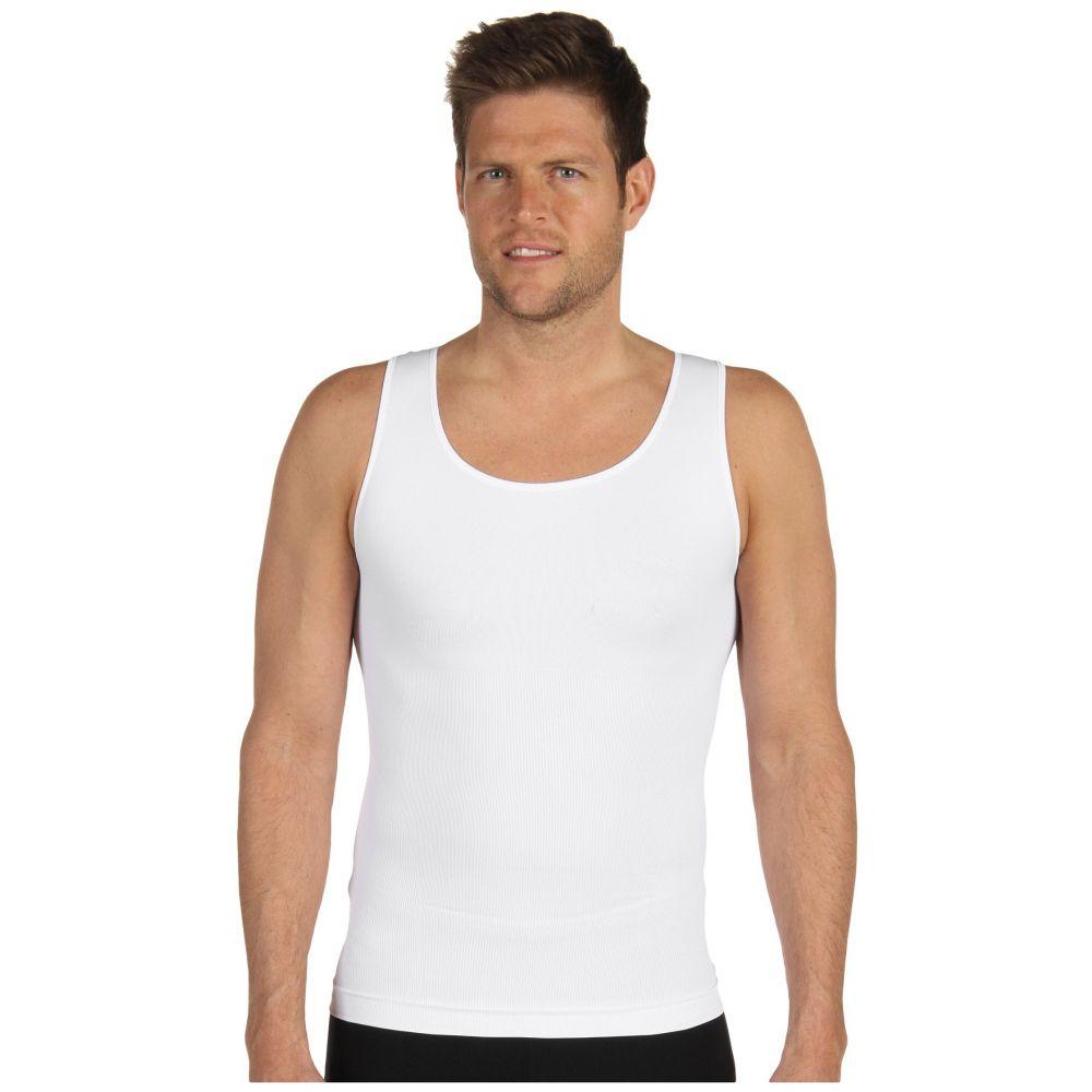 スパンクス Spanx for Men メンズ トップス タンクトップ【Zoned Performance Tank】White