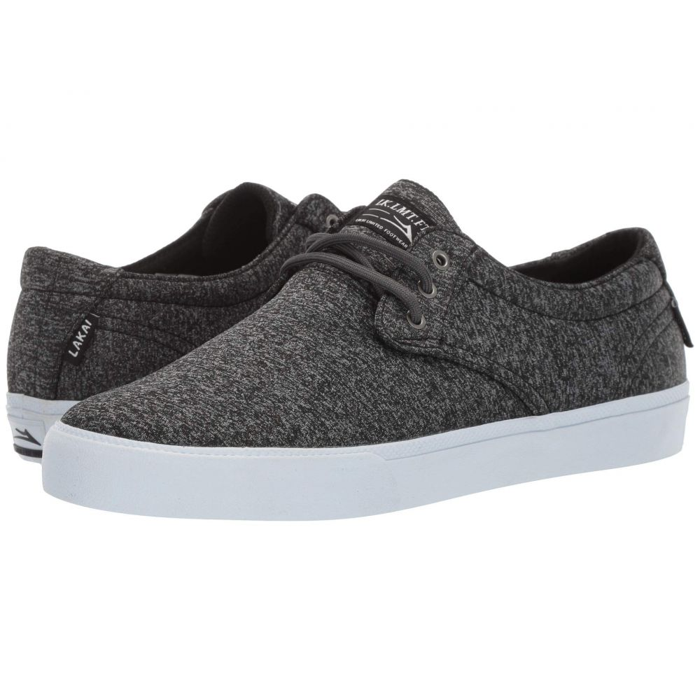 ラカイ Lakai メンズ シューズ・靴 スニーカー【Daly】Black Textile 1