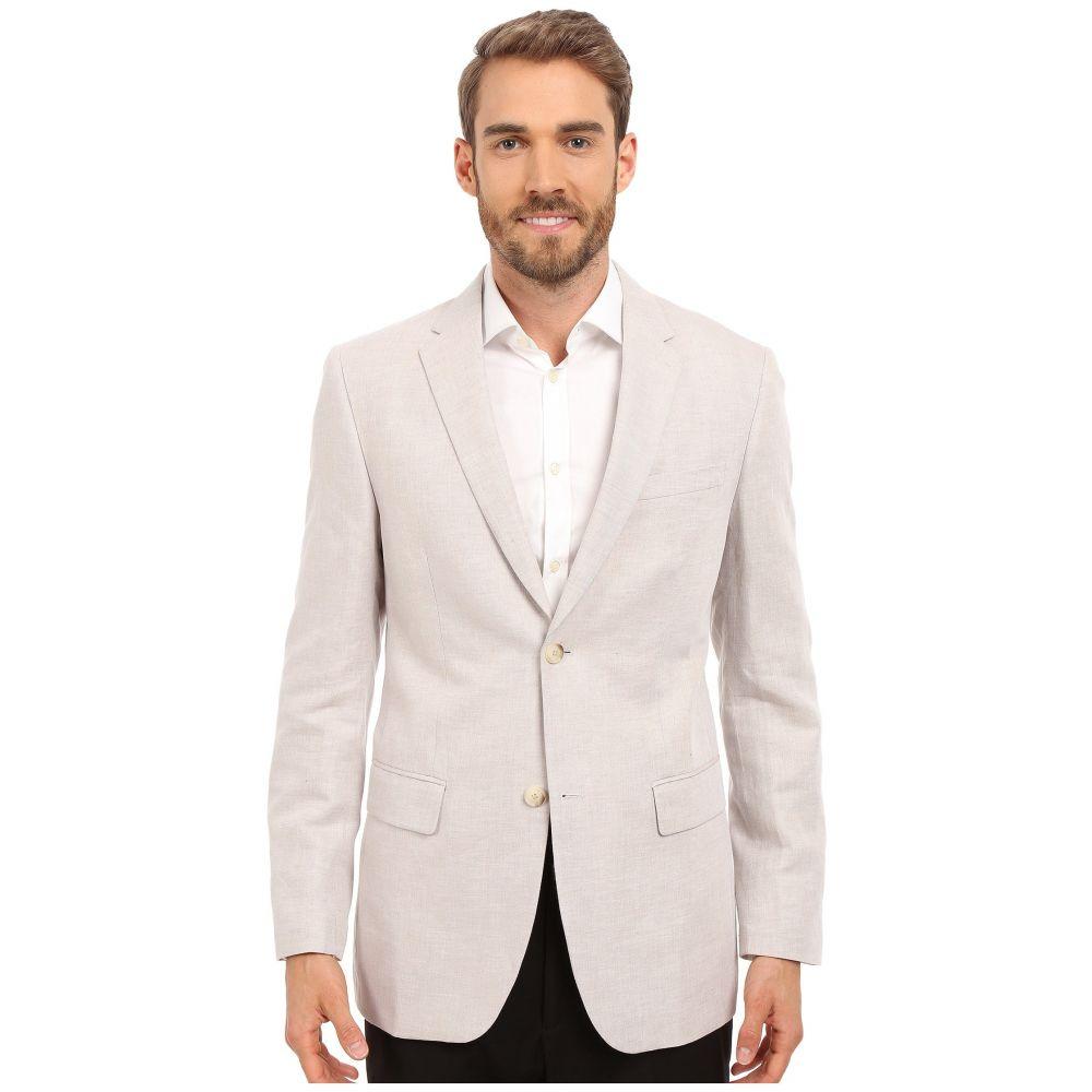 ペリー エリス Perry Ellis メンズ アウター スーツ・ジャケット【Linen Suit Jacket】Natural Linen