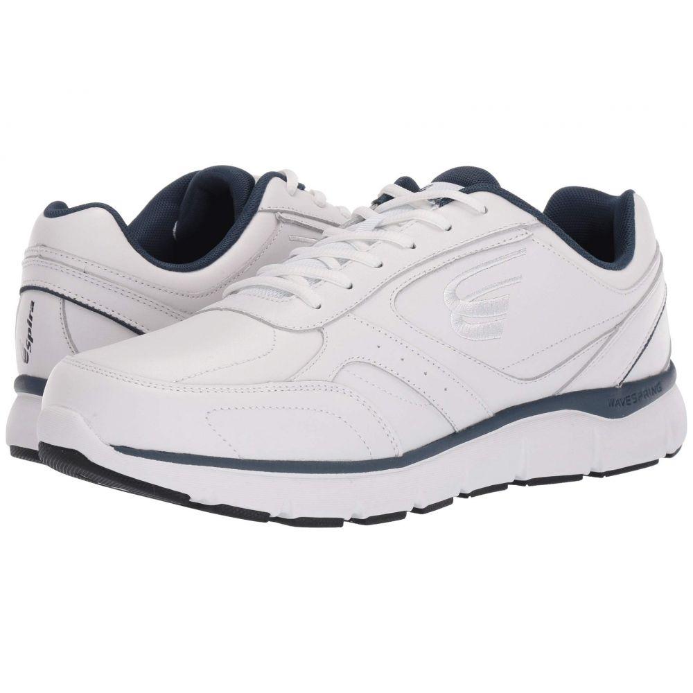 スピラ Spira メンズ シューズ・靴 スニーカー【WaveWalker】White/Navy