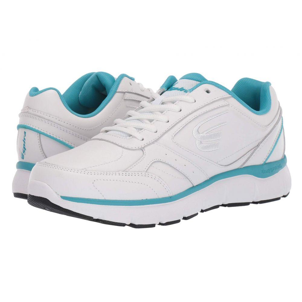 スピラ Spira レディース シューズ・靴 スニーカー【WaveWalker】White/Aqua