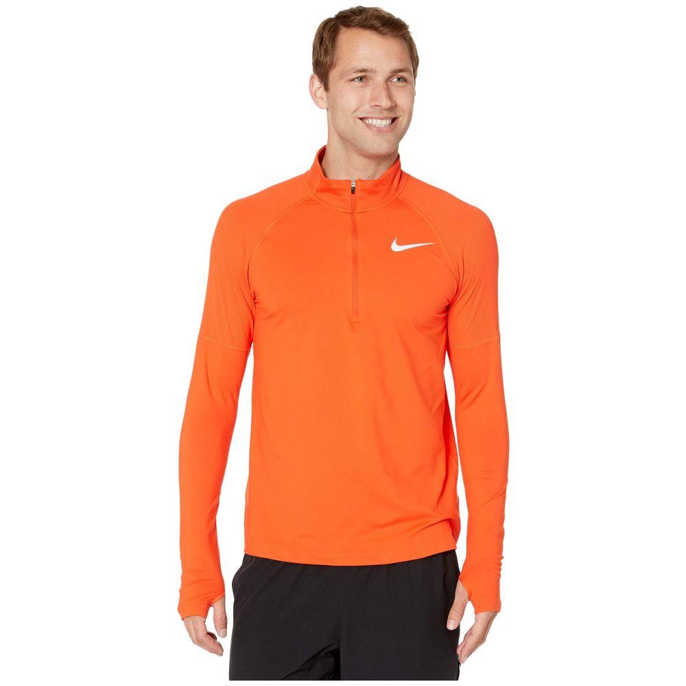 ナイキ Nike メンズ トップス【Element Top 1/2 Zip 2.0】Team Orange/Reflective Silver