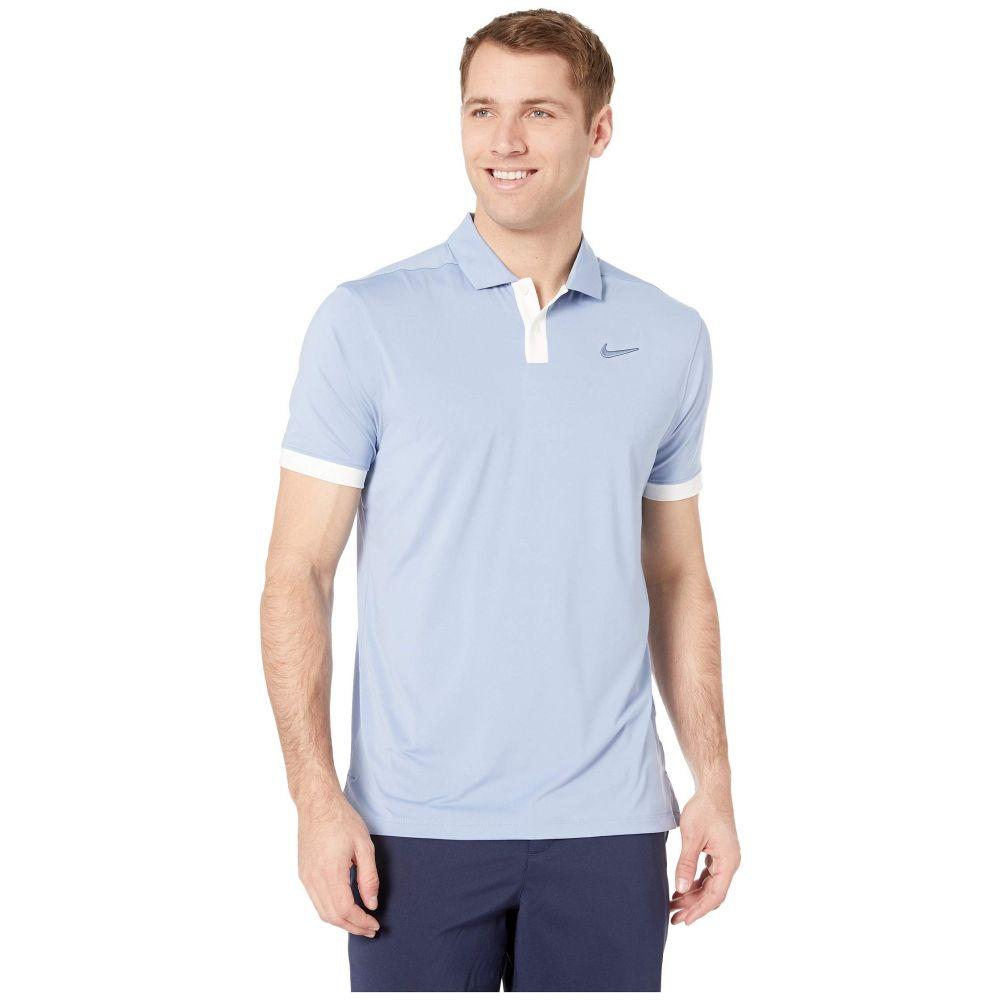 ナイキ Nike Golf メンズ トップス ポロシャツ【Dry Vapor Solid Polo】Indigo Fog/Blue Void/Indigo Fog