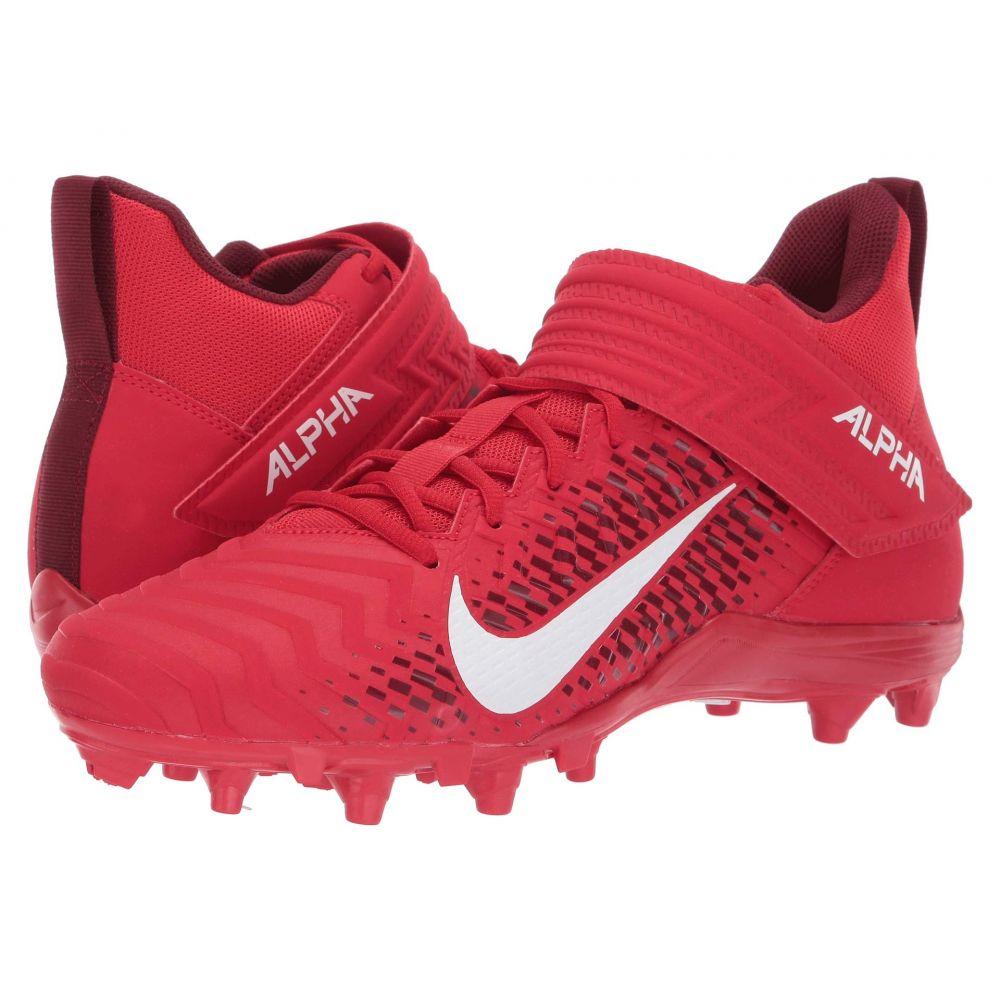 ナイキ Nike メンズ アメリカンフットボール シューズ・靴【Alpha Menace Varsity 2】University Red/White/Team Red