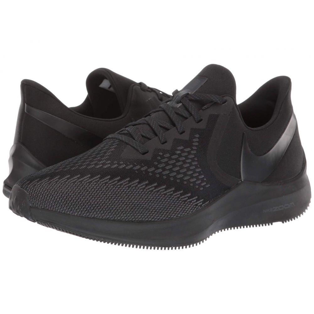 ナイキ Nike メンズ ランニング・ウォーキング シューズ・靴【Air Zoom Winflo 6】Black/Black/Anthracite