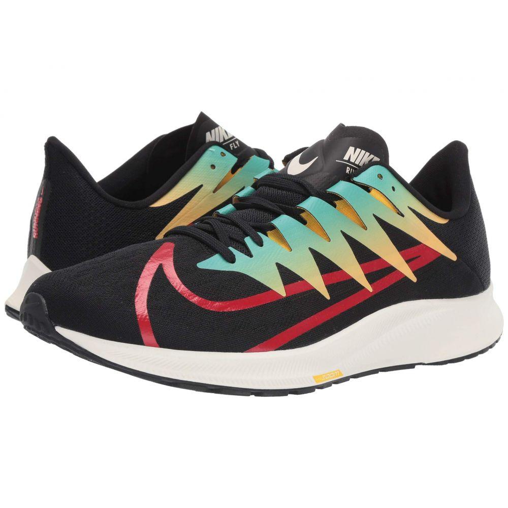 ナイキ Nike メンズ ランニング・ウォーキング シューズ・靴【Zoom Rival Fly】Black/University Red/Amarillo/Hyper Jade