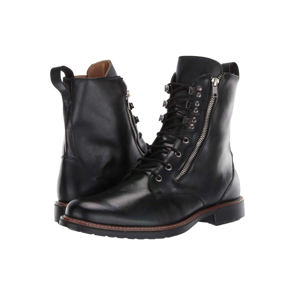 マッテオ マッシモ Massimo Matteo メンズ シューズ・靴 ブーツ【Side Zip Boot】Black