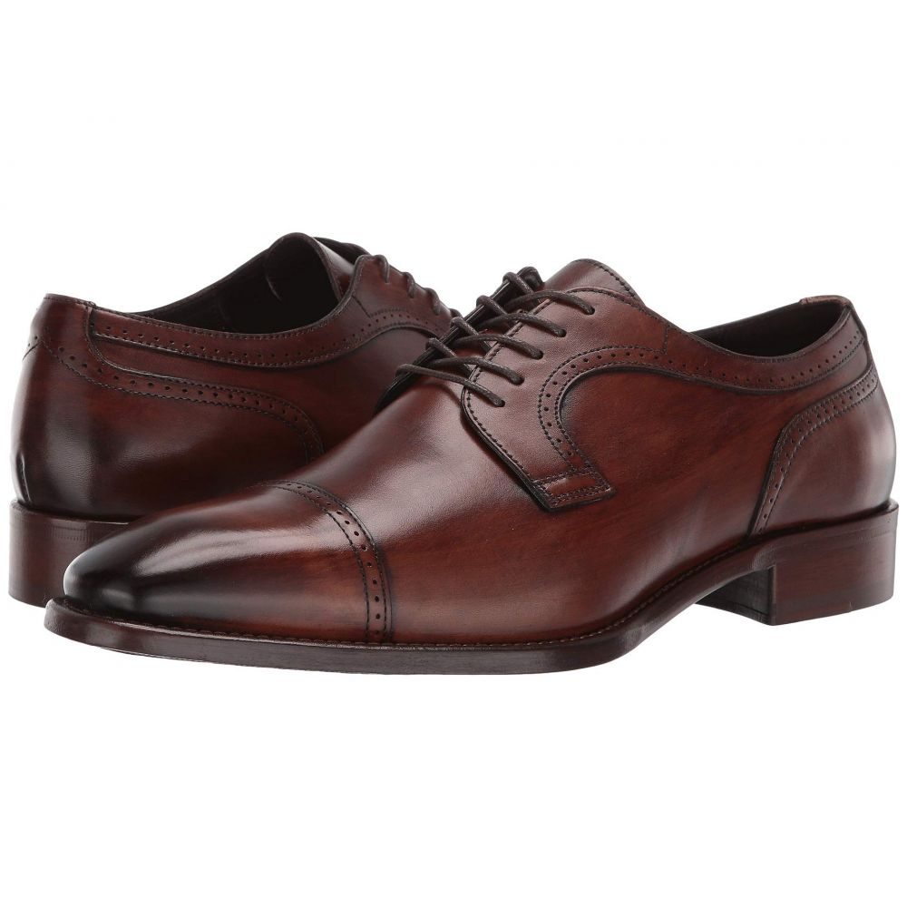 ジョンストンアンドマーフィー J&M Collection メンズ シューズ・靴 革靴・ビジネスシューズ【Cormac Cap Toe】Mahogany
