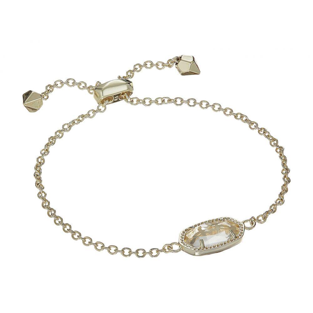 ケンドラ スコット Kendra Scott レディース ジュエリー・アクセサリー ブレスレット【Elaina Birthstone Bracelet】April/Gold/Clear Crystal Glass