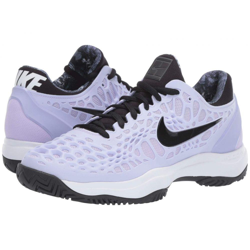 ナイキ Nike レディース テニス シューズ・靴【Zoom Cage 3 HC】Purple Agate/Black/White/Hyper Crimson
