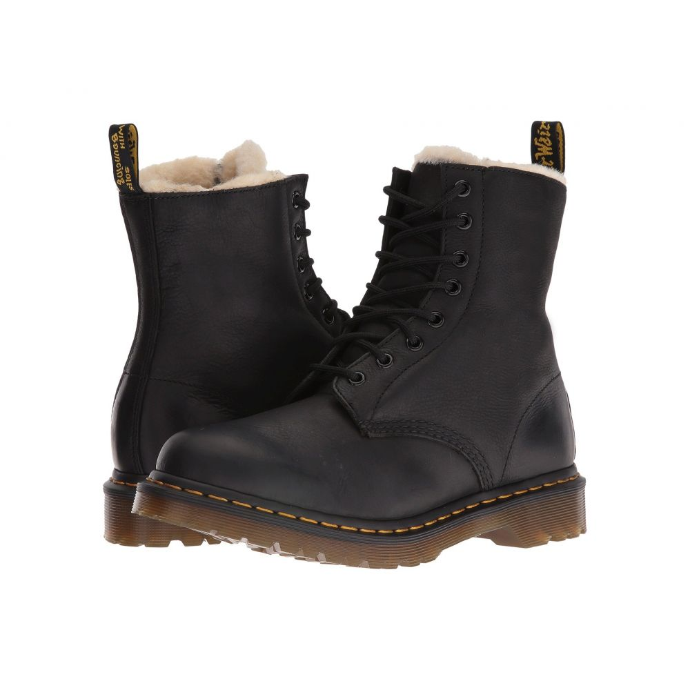 ドクターマーチン Dr. Martens レディース シューズ・靴 ブーツ【Serena 8-Eye Boot】Black Burnished Wyoming