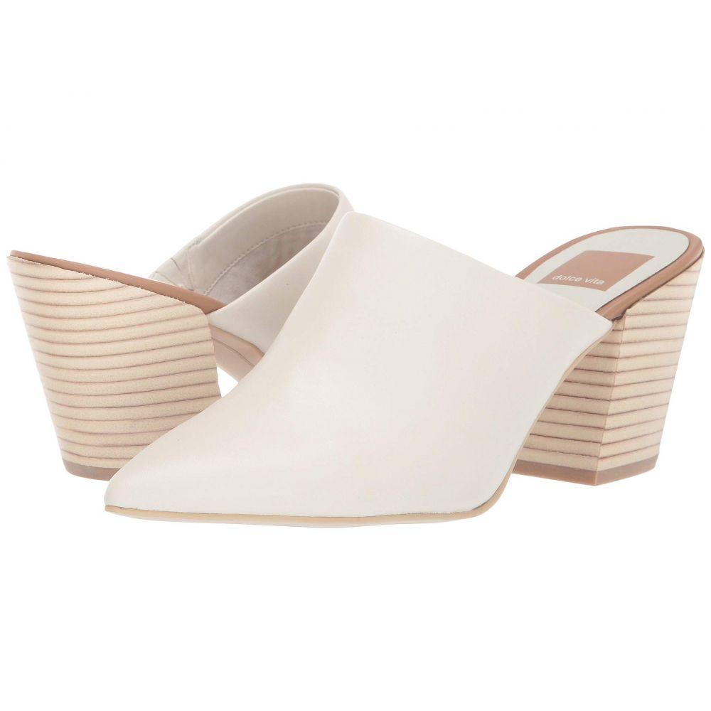 ドルチェヴィータ Dolce Vita レディース シューズ・靴 ヒール【Angela】White Leather