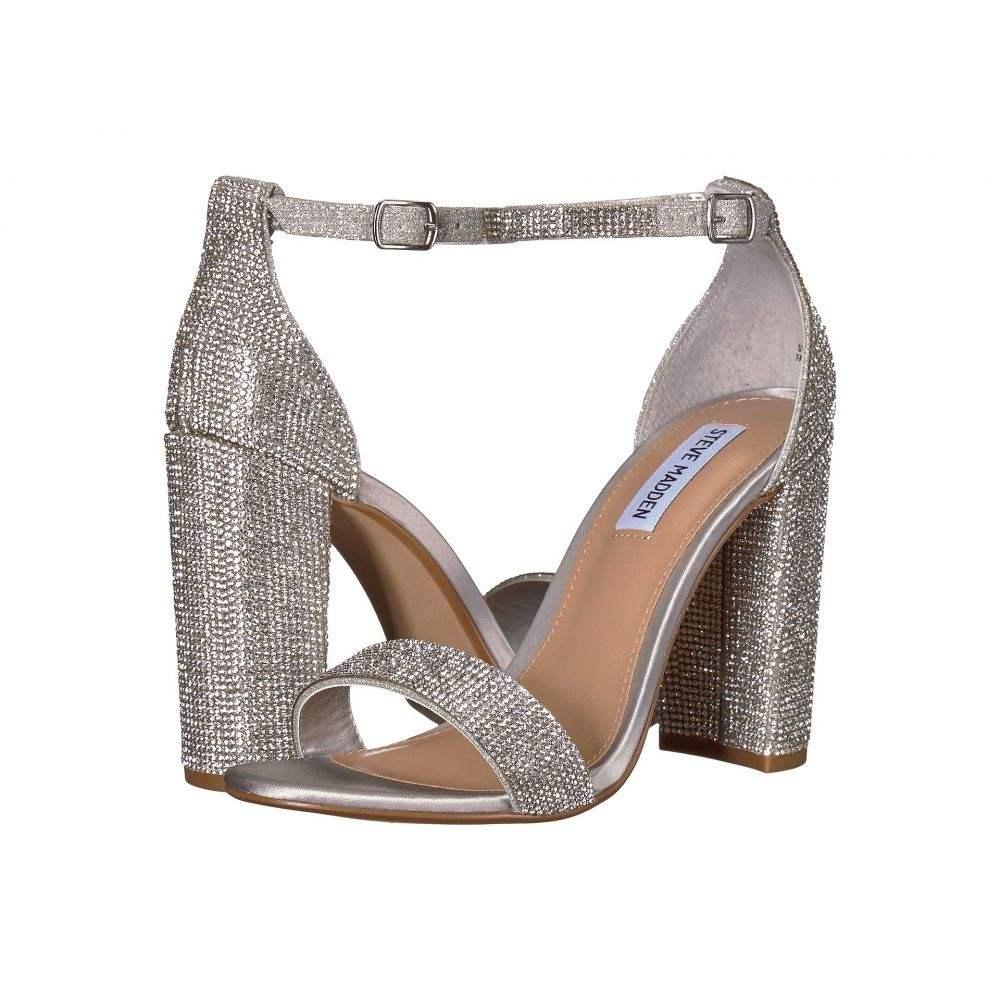 スティーブ マデン Steve Madden レディース シューズ・靴 サンダル・ミュール【Carrson-R Heeled Sandal】Crystal