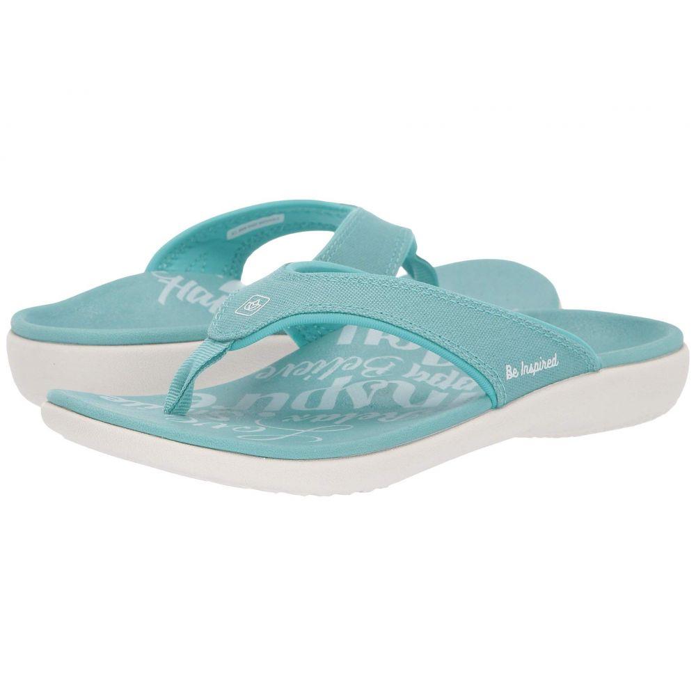 スペンコ Spenco レディース シューズ・靴 ビーチサンダル【Yumi 2 Inspiration】Aqua Sea